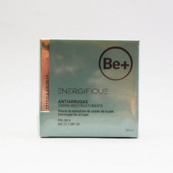 Be+ Energifique Antiarrugas Crema Reestructurante Piel Seca 50ml
