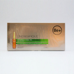 Be+ Energifique Vitamina C Pura 15% 10 Ampollas