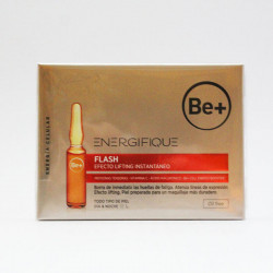 Be+ Energifique Flash Efecto Lifting Instantáneo 5 Ampollas
