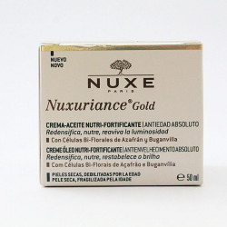Nuxe Nuxuriance Gold Crema-Aceite Nutri-Fortificante. Antiedad Absoluto 50ml