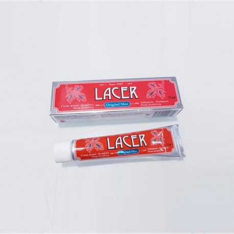 Lacer Pasta Dentífrica Original Mint 75ml
