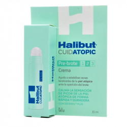 Halibut Cuidatopic Crema Pre-Brote 15ml
