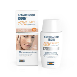 Foto Ultra 100 ISDIN Active Unify Color 50ml