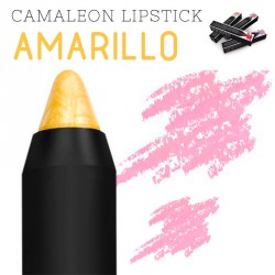 Camaleon Magic Colourstick Lápiz Labial color Amarillo