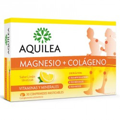 Aquilea Magnesio + Colágeno - 30 comprimidos masticables