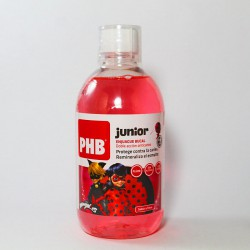 Phb Junior Enjuague Bucal Lady Bug 500ml Sabor Fresa